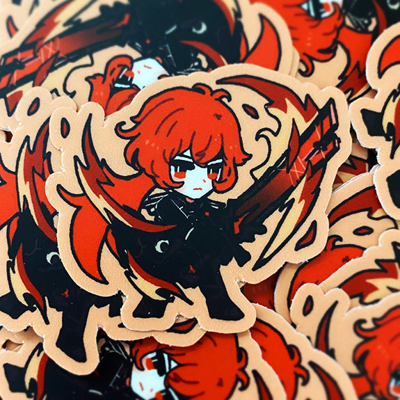 GENSHIN GUARDIANS - DILUC VINYL STICKER