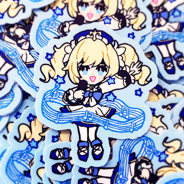 GENSHIN GUARDIANS - BARBARA VINYL STICKER