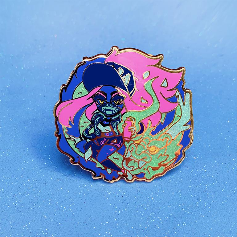 K/DA POPSTARS ENAMEL PIN SET [4 PC]