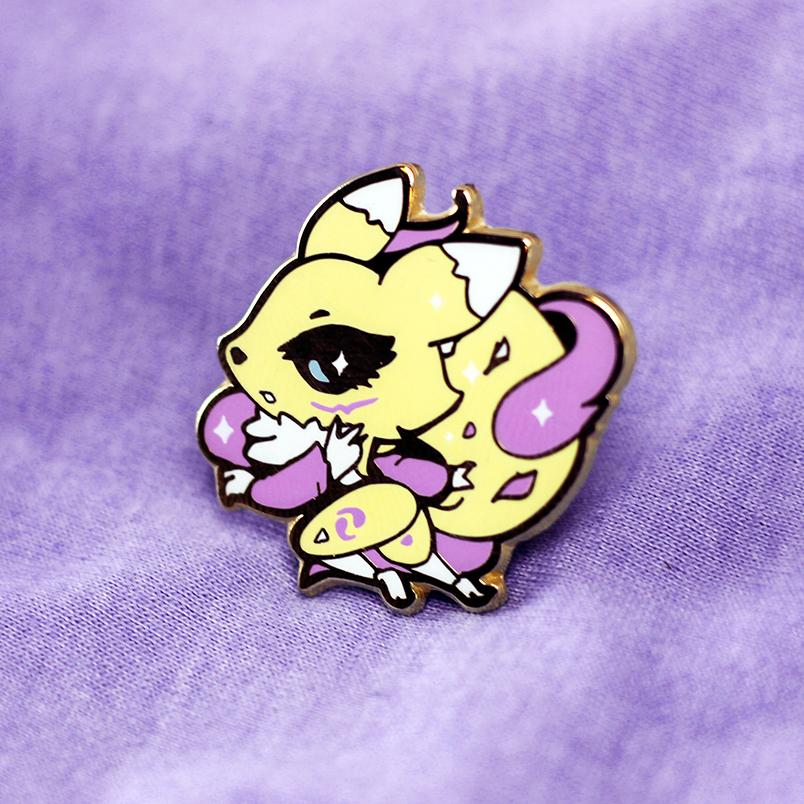 DIGIBABY RENAMON ENAMEL PIN