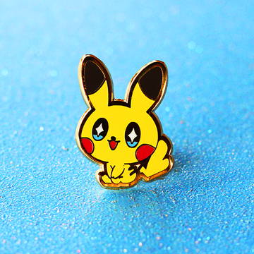 BABY PIKACHU [HEART TAIL- FEMALE] ENAMEL PIN