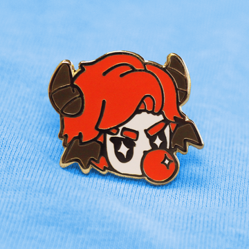 TOUGH GUY! INCUBUS BOY ENAMEL PIN