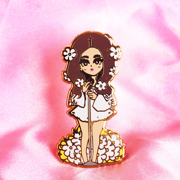 POP GIRL LANA ENAMEL PIN [LIMITED EDITION]