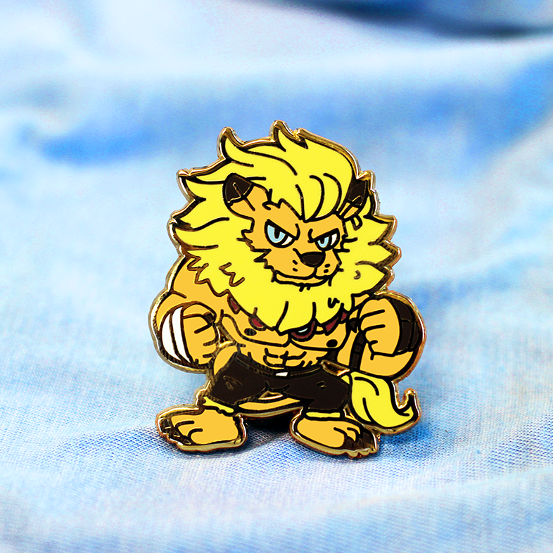 DIGIKING LEOMON ENAMEL PIN