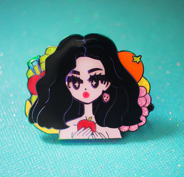 POP GIRL MARINA FROOT ENAMEL PIN