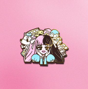 POP GIRL MELANIE ENAMEL PIN [PREORDER]