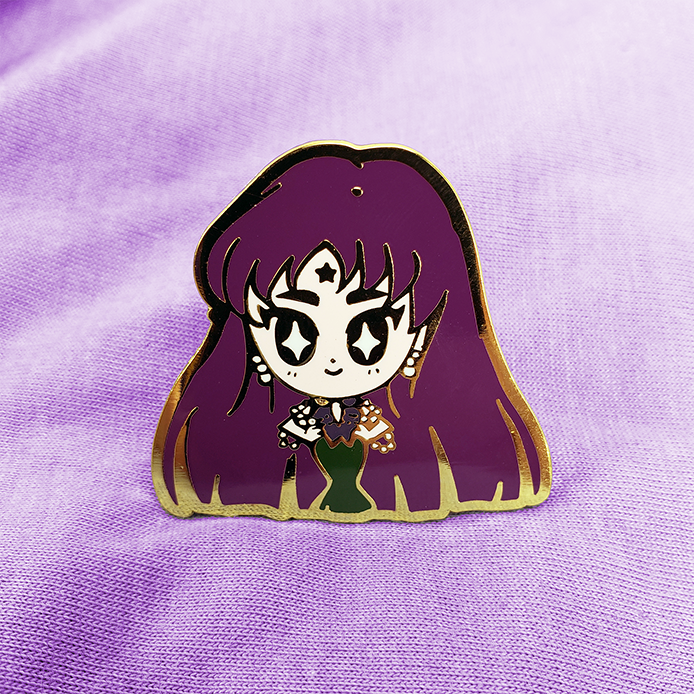 SENSHI DOLL MISTRESS 9 ENAMEL PIN