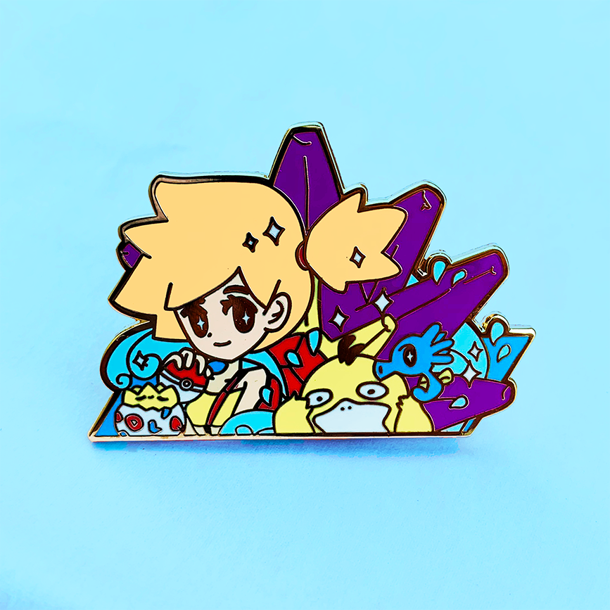 GYM LEADER MISTY ENAMEL PIN