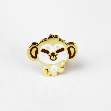 ZODIAC MONKEY GOLD ENAMEL PIN [LIMITED EDITION]