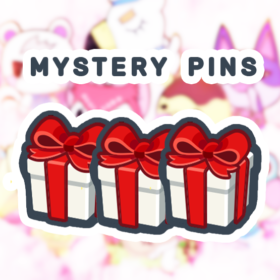 MYSTERY VILLAGER ENAMEL PINS [ 3 PC]