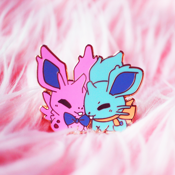 NIDOLOVERS ENAMEL PIN