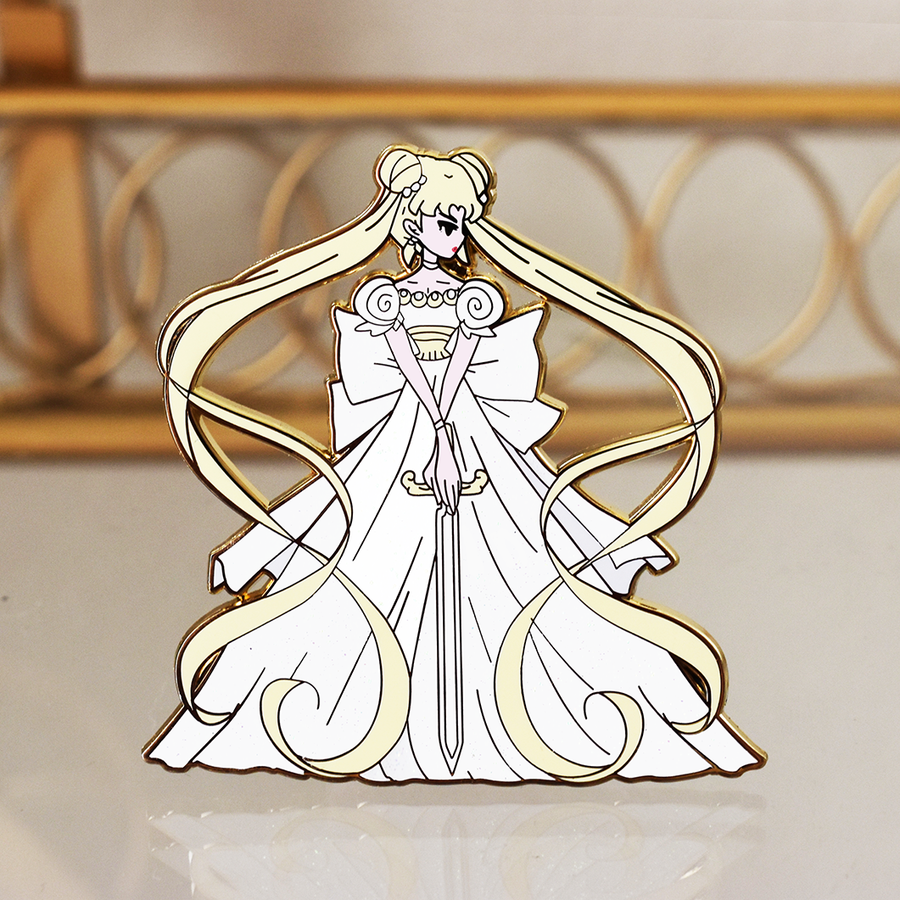 FASHION SCOUT PRINCESS SERENITY ENAMEL PIN  [NONGLITTER] [LIMITED EDITION]
