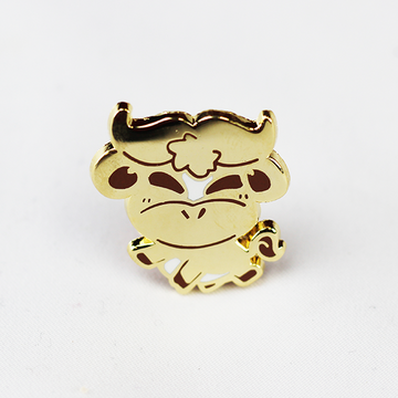 ZODIAC OX GOLD ENAMEL PIN [LIMITED EDITION]