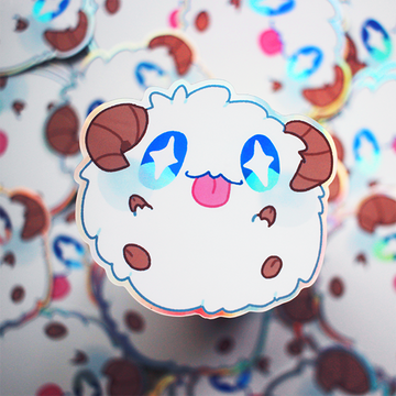 PORO VINYL STICKER [HOLOGRAPHIC]