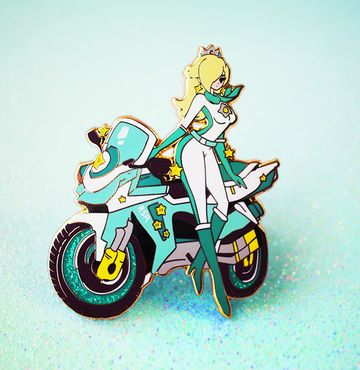 Biker Rosalina Enamel Pin [LIMITED EDITION]
