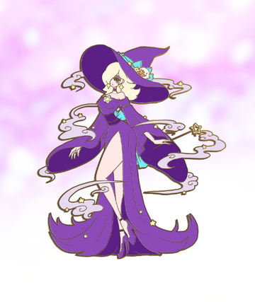 PREORDER WITCH ROSA FANTASY ENAMEL PIN [PURPLE][LIMITED EDITION]