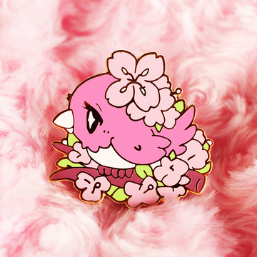 SAKURA BIRD ENAMEL PIN
