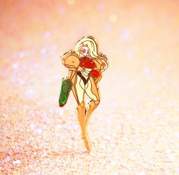 Samus Enamel Pin [LIMITED EDITION]