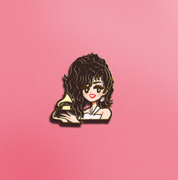 POP GIRL SELENA Q ENAMEL PIN [PREORDER]