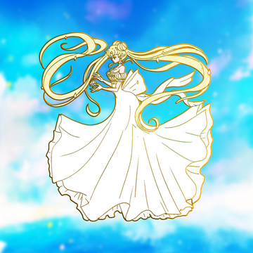 CRYSTAL PRINCESS SERENITY ENAMEL PIN [FASHION SCOUTV3] [LIMITED EDITION] [PREORDER]