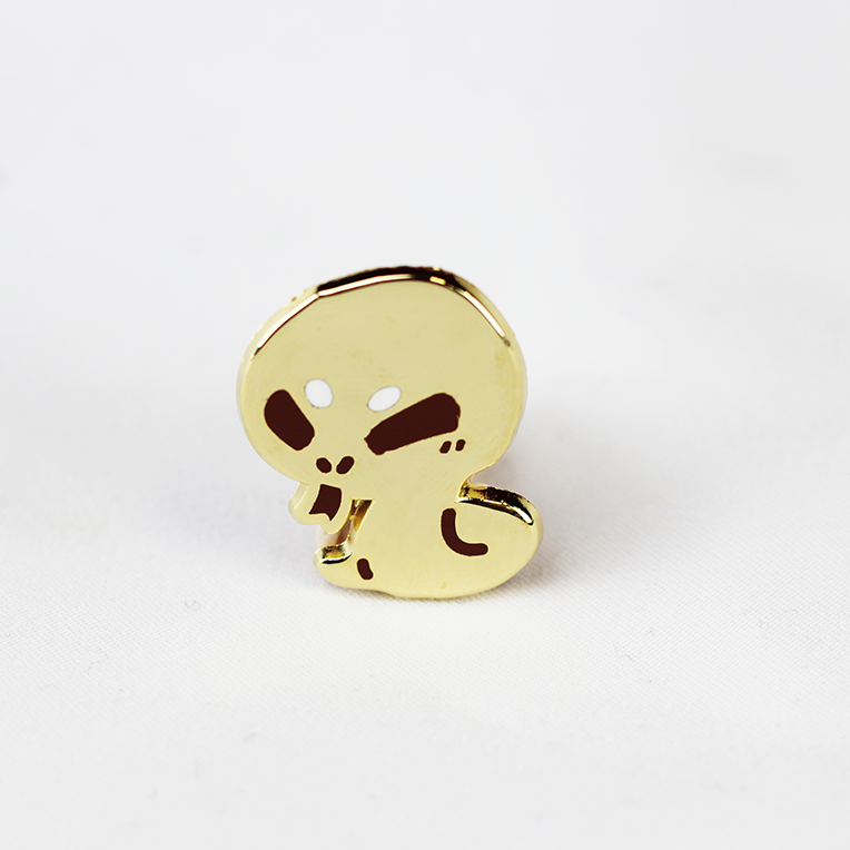 ZODIAC SNAKE GOLD ENAMEL PIN [LIMITED EDITION]