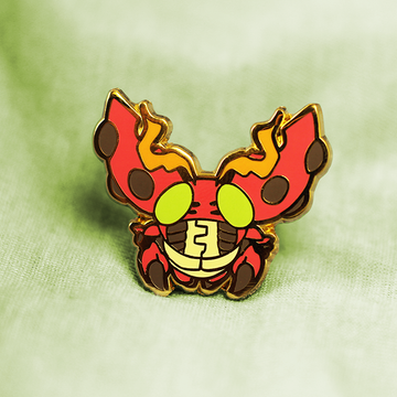 DIGIBABY TENTOMON ENAMEL PIN