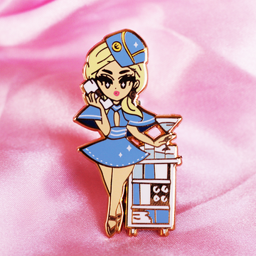 POP GIRL BRITNEY ENAMEL PIN [LIMITED EDITION]