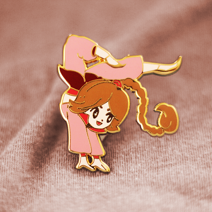 TY LEE ENAMEL PIN [AVATAR]