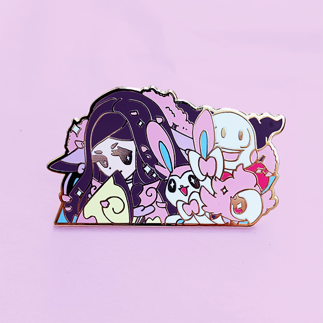 GYM LEADER VALERIE ENAMEL PIN