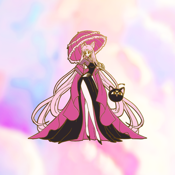 WICKED LADY PARASOL ENAMEL PIN [FASHION SCOUTV3] [LIMITED EDITION] [PREORDER]