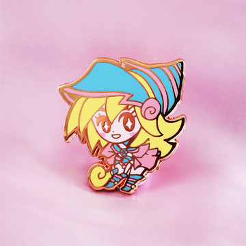 YGO DARK MAGICIAN GIRL ENAMEL PIN