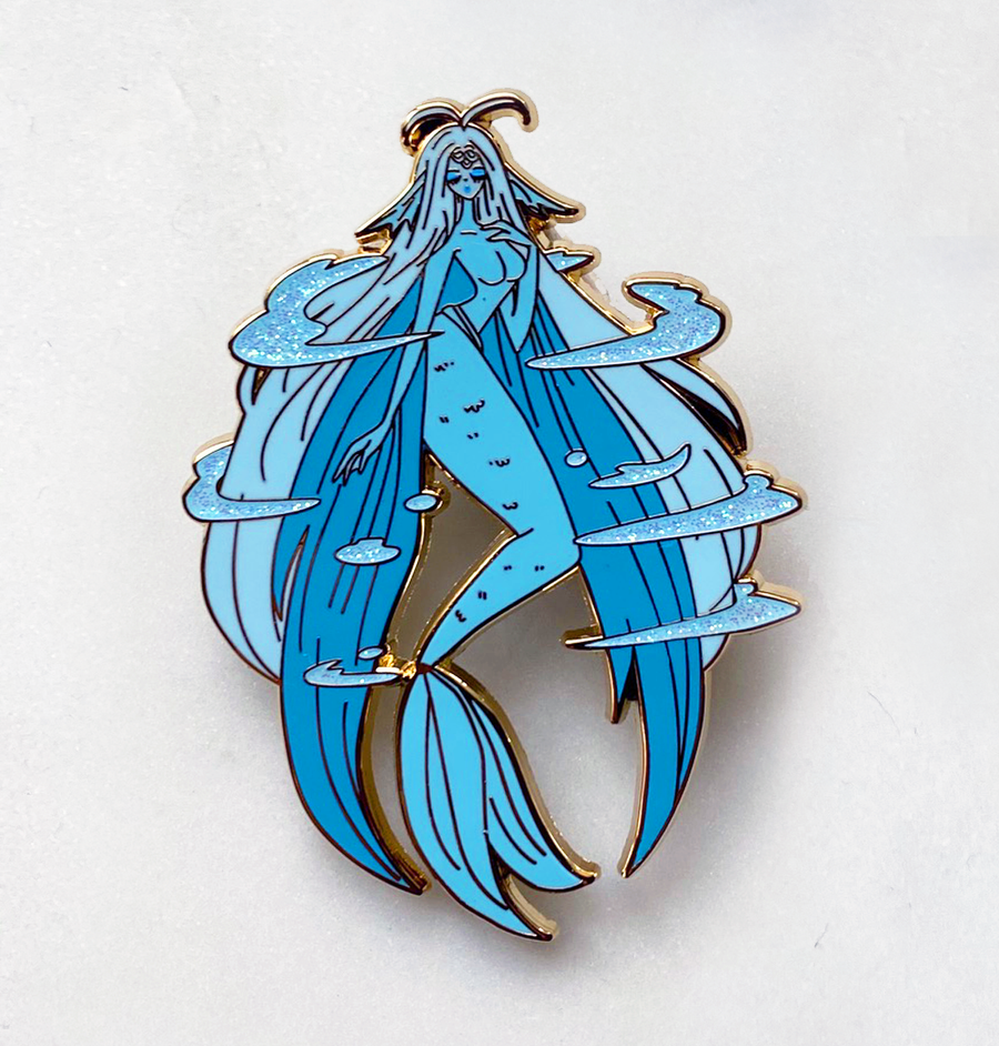 FASHION CLOW CARD WATERY ENAMEL PIN  [CCS]  [LIMITED EDITION]