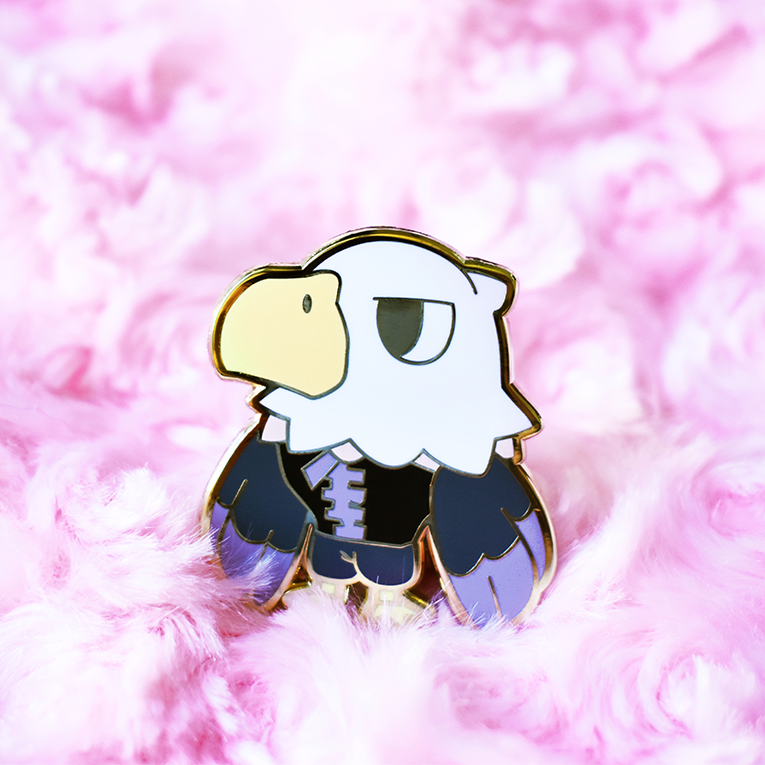 Apollo Enamel Pin [Villager]