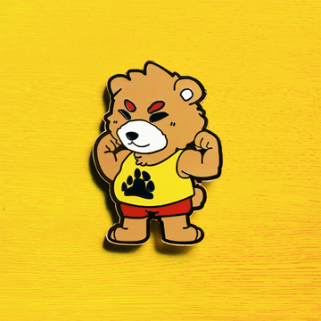 DADDY BEAR ENAMEL PIN