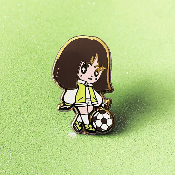BUTTERCUP ENAMEL PIN