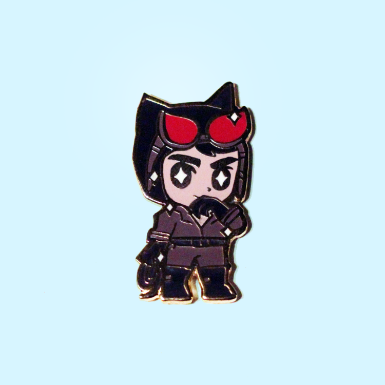 CAT BOY ENAMEL PIN
