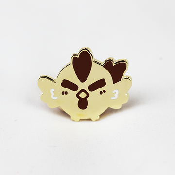 ZODIAC ROOSTER GOLD ENAMEL PIN [LIMITED EDITION]