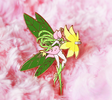 FASHION DIGIQUEEN LILLYMON ENAMEL PIN