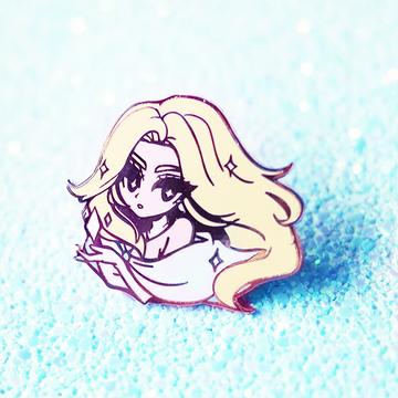 XBABE EMMA FROST [NORMAL OR DIAMOND FORM] ENAMEL PIN