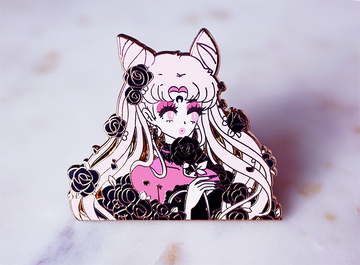 WICKED LADY ROSES V2 ENAMEL PIN
