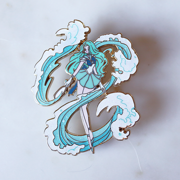 FASHION SCOUT NEPTUNE V3 ENAMEL PIN [LIMITED EDITION]