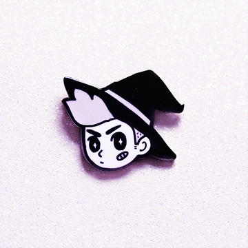 WITCH BOY ENAMEL PIN [FALL 2017]