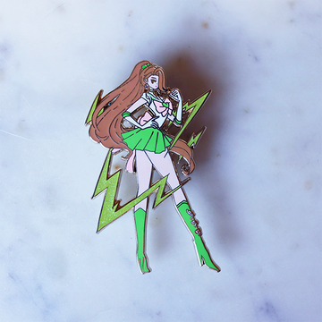 FASHION SCOUT JUPITER V3 ENAMEL PIN [LIMITED EDITION]