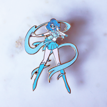FASHION SCOUT MERCURY V3 ENAMEL PIN [LIMITED EDITION]
