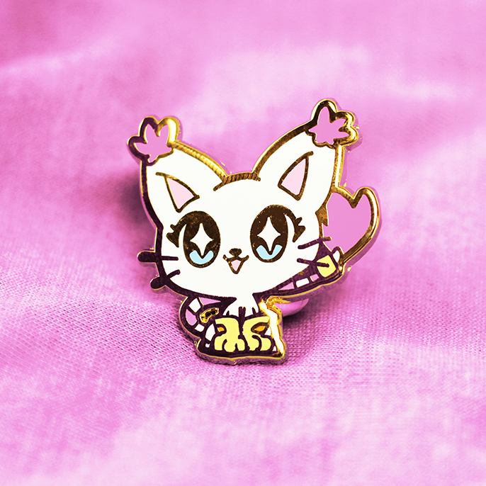 DIGIBABY GATOMON ENAMEL PIN