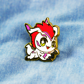 DIGIBABY GOMAMON ENAMEL PIN