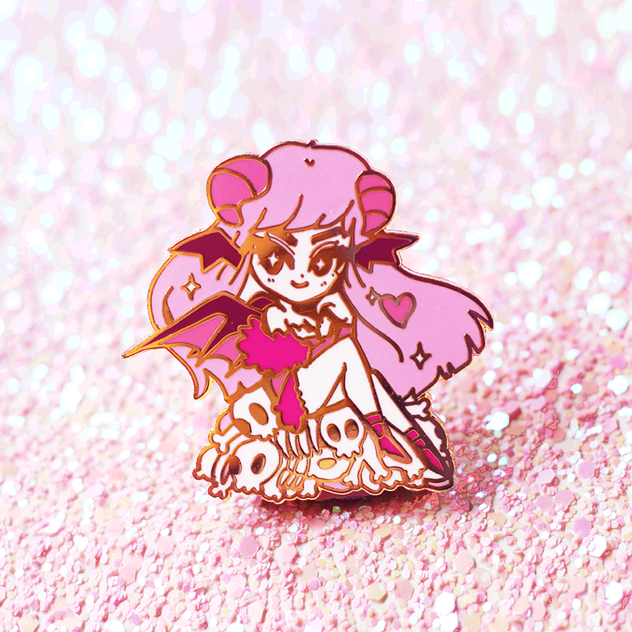 SUCCUBAE ENAMEL PIN [LIMITED]