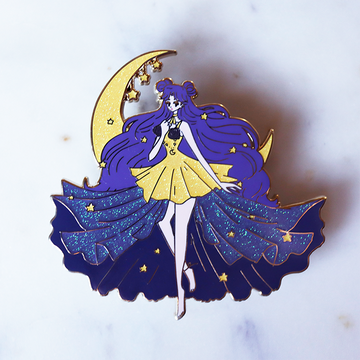 FASHION SCOUT HUMAN LUNA ENAMEL PIN [LIMITED EDITION]