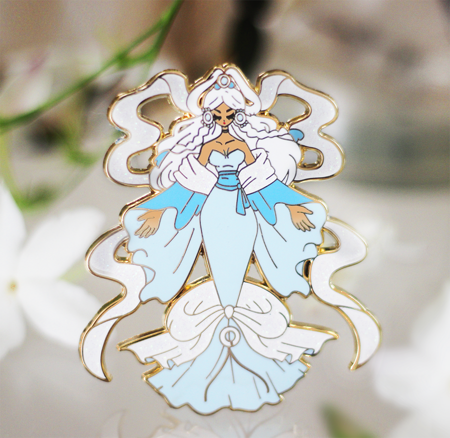MOON PRINCESS YUE ENAMEL PIN [AVATAR] [LIMITED EDITION]