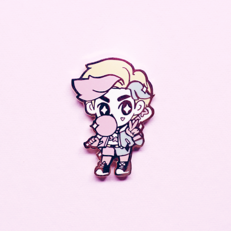 HARLEY BOY ENAMEL PIN